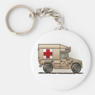 Red Cross Military Ambulance Keychain