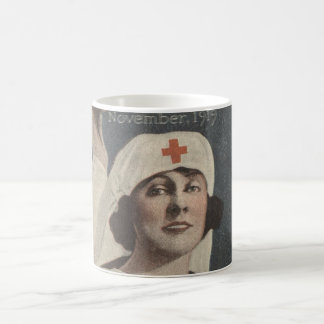 Red Cross Nurse Coffee Mug