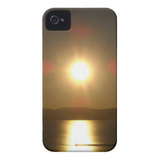 Red Cross over Lake Champlain, Vermont iPhone 4 Case-Mate Case