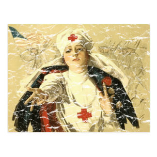 Red Cross Postcard