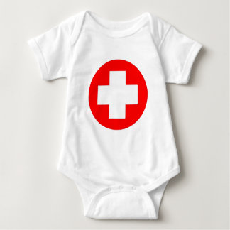 Red Cross Products & Designs! Baby Bodysuit