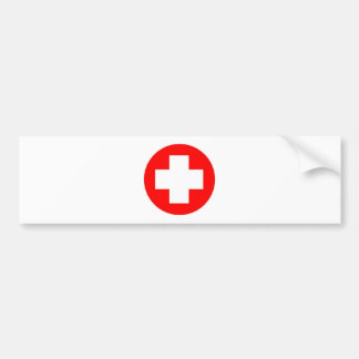 Red Cross Products & Designs! Car Bumper Sticker
