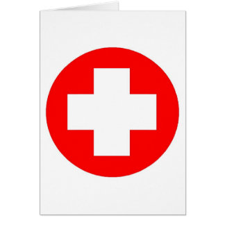 Red Cross Products & Designs! Card