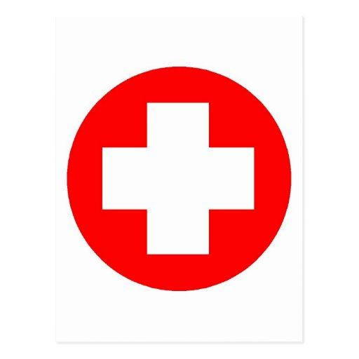 Red Cross Products & Designs! Postcard