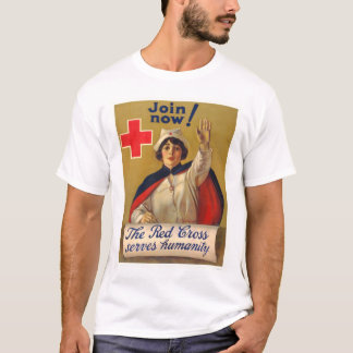 Red Cross serves humanity - Join now T-Shirt
