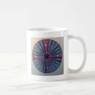 red cross sphere coffee mug