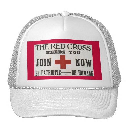 Red Cross Trucker Hat