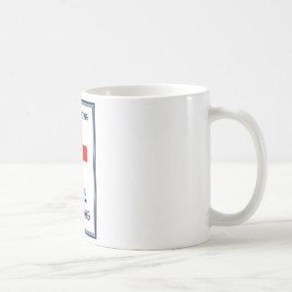 Red Cross -- We Belong 100% Strong Mug