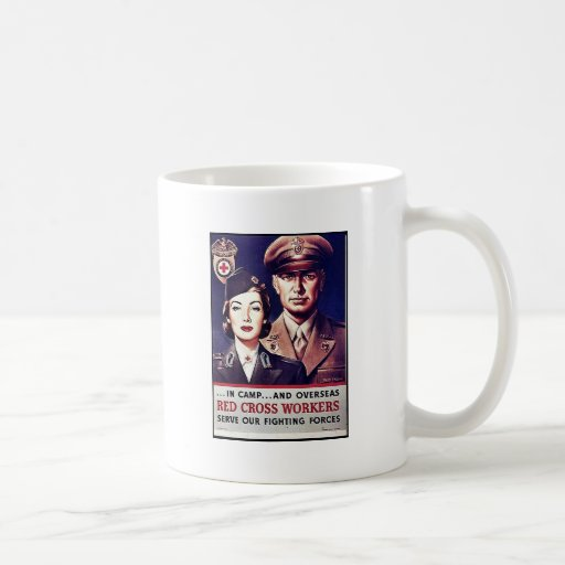 Red Cross Workers Classic White Coffee Mug