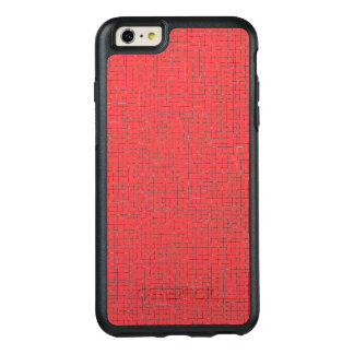 Red Crosshatch OtterBox iPhone 6/6s Plus Case