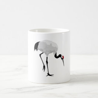 Red-Crowned Crane (a.k.a. Japanese Crane) Mugs