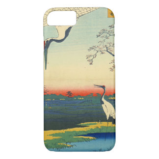 Red Crowned Cranes 1857 iPhone 8/7 Case