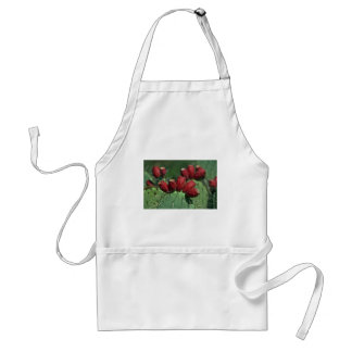 Red Crowns Adult Apron