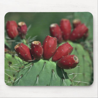 Red Crowns Mouse Pad