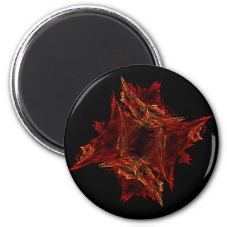 Red Crystals Magnet