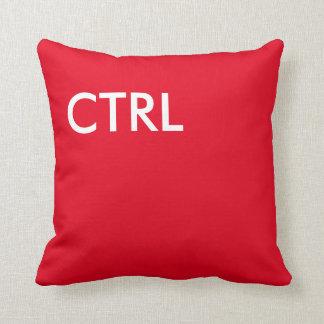 Red CTRL key pillow