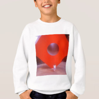 Red Cube Curious Child Sweatshirt
