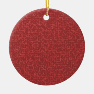 Red Cubed Ornament