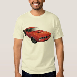 Red 'Cuda Front T Shirt