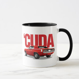 Red 'Cuda Rear Mug