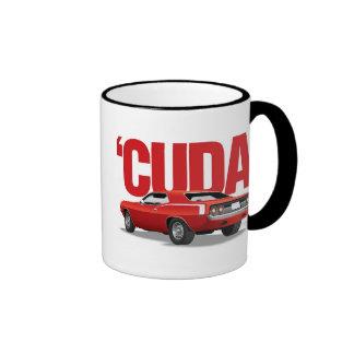 Red 'Cuda Rear Ringer Mug