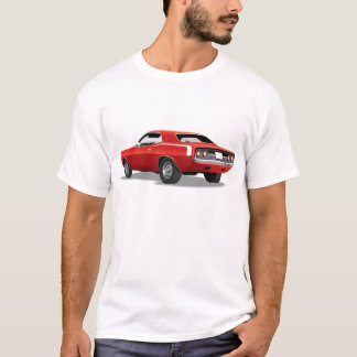 Red 'Cuda Rear T-Shirt