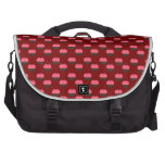Red cupcake pattern laptop computer bag
