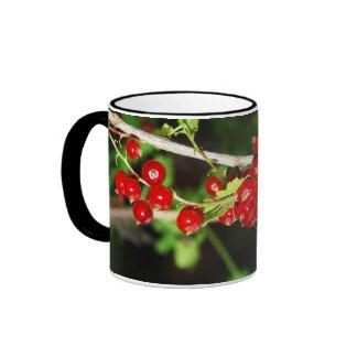red currant ringer coffee mug