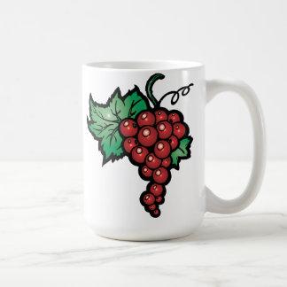 Red Currant Classic White Coffee Mug
