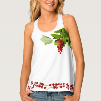 Red Currant Tank Top