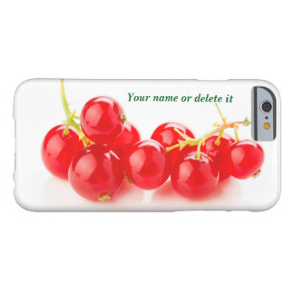 Red currants barely there iPhone 6 case