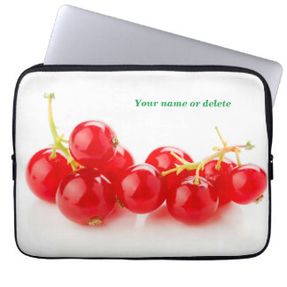 Red currants computer sleeve