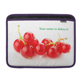 Red currants MacBook sleeve