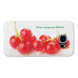 Red currants samsung galaxy s6 case