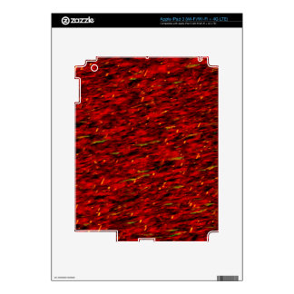 Red Curtain Abstract iPad 3 Skin