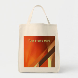 Red Curtain Abstract with CustomizableText Tote Bag