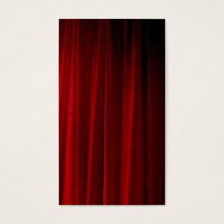 Red Curtain Business Card