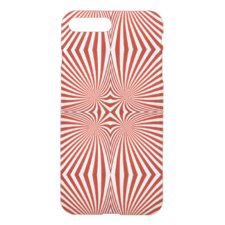 Red curved line pattern iPhone 8 plus/7 plus case