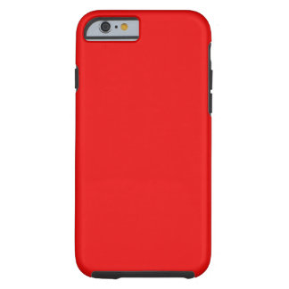 Red Customizable Tough iPhone 6 Case