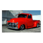 Red Customized Pickup Truck Double-Sided Standard Business Cards (Pack Of 100)