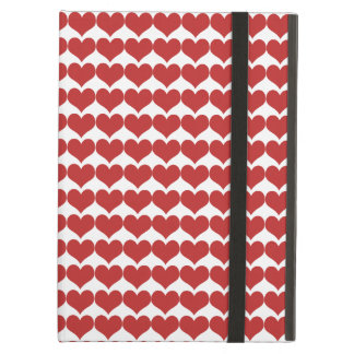 Red Cute Hearts Pattern Powis iPad Air Case