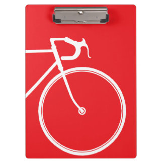 Red cycle clipboards