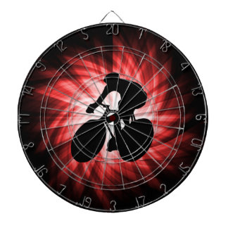 Red Cycling Dart Boards