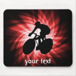Red Cycling Mousepad