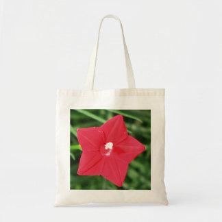Red Cypress Vine Tote Bag