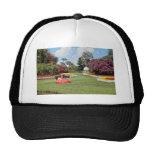 Red Cyprus Gardens, Florida, U.S.A. flowers Trucker Hat