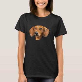 Red Dachshund Dog T-Shirt
