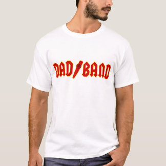 Red Dad Band T-Shirt