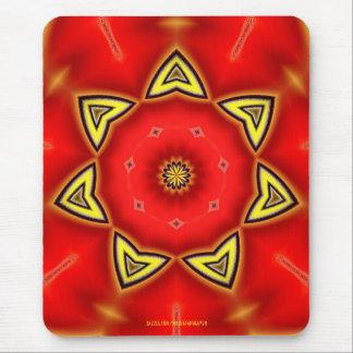 Red Daffodil Mousepad