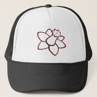 Red Daffodil Trucker Hat